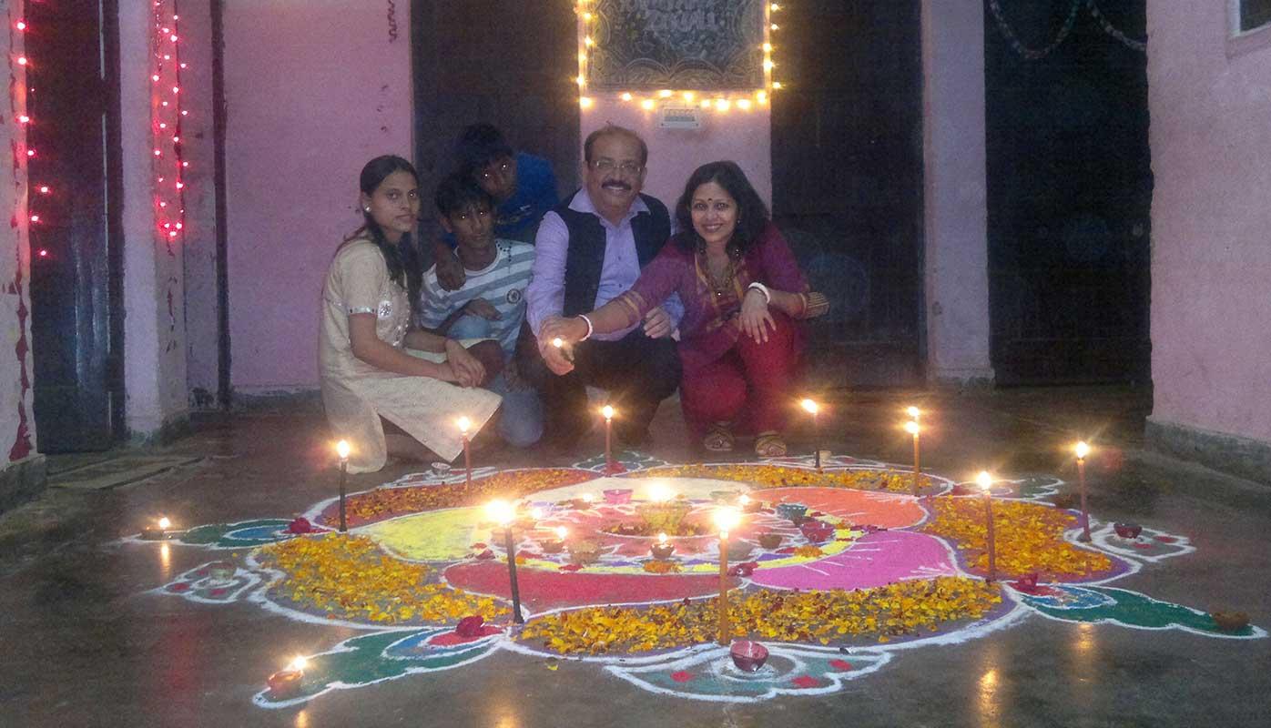 Diwali celebration at Centre- Prajna Foundation