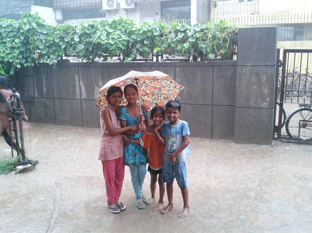 A rainy day at Centre- Prajna Foundation