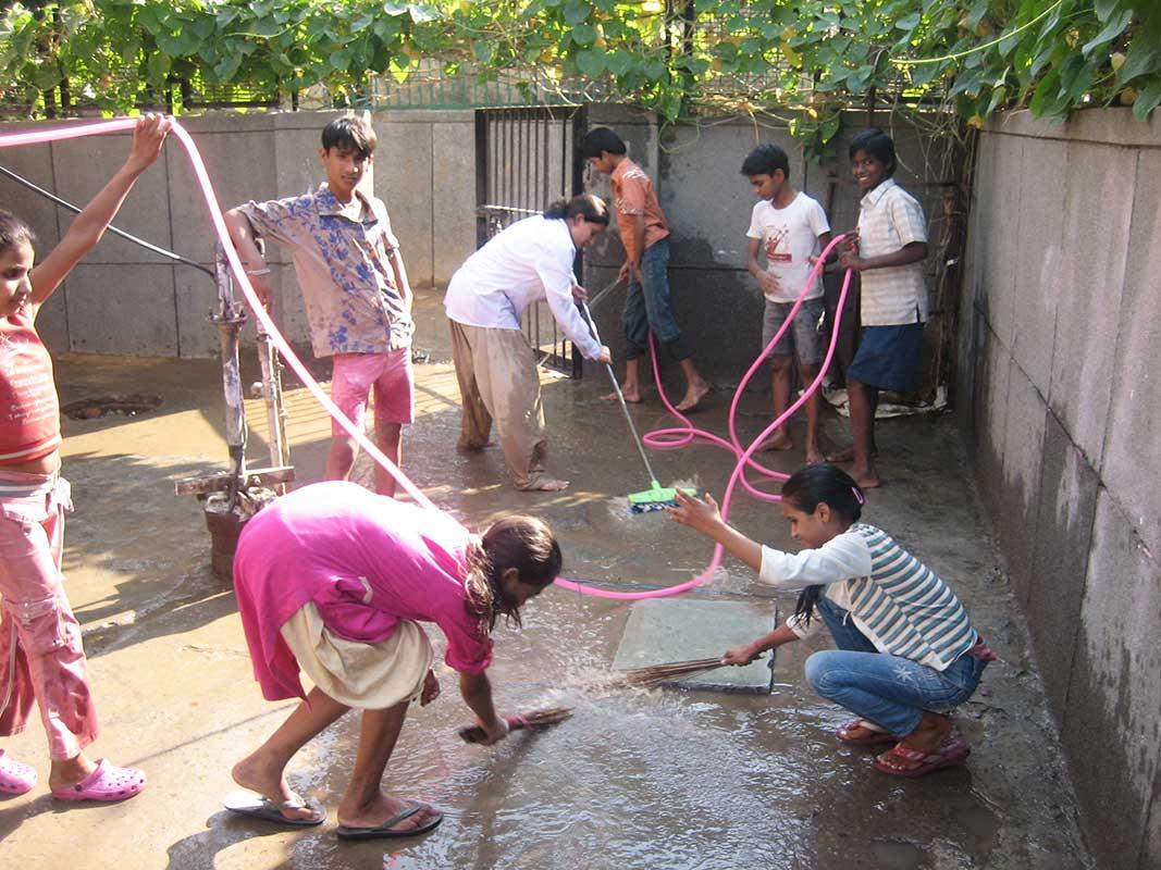 Cleaning- Prajna Foundation