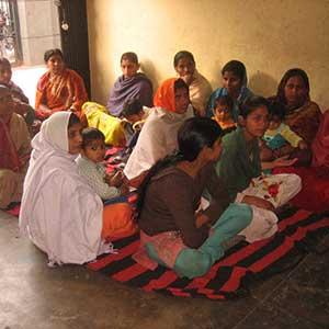 A session with parents- Prajna Foundation
