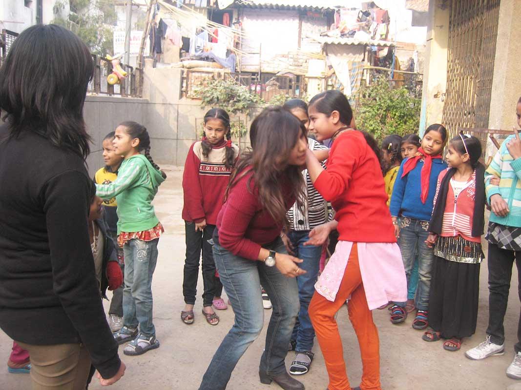 Self Defense workshop by Ms Veena Gupta- Prajna Foundation