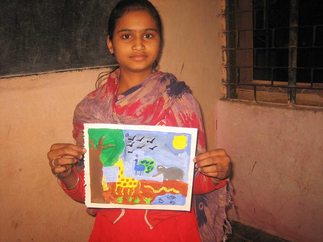 Wildlife painting competition 2012- Prajna Foundation