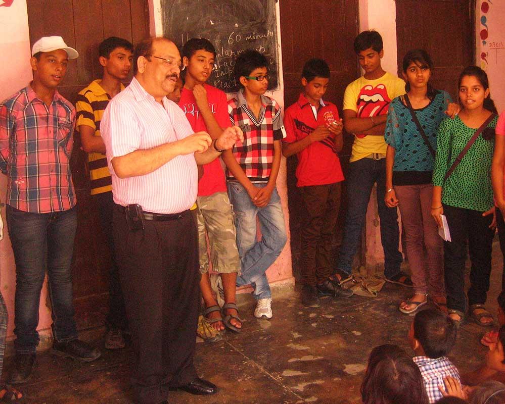 Anti drug campaign- Prajna Foundation