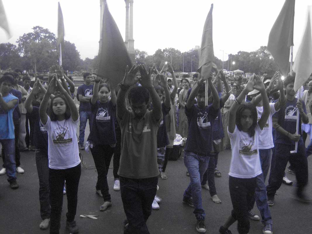 Health Run from Vigyan Bhawan to India Gate- Prajna Foundation