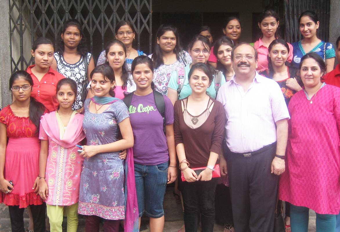Welcome to LSR volunteers- Prajna Foundation