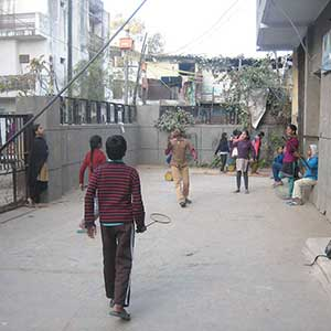 Photos to raise complaint to MCD- Prajna Foundation