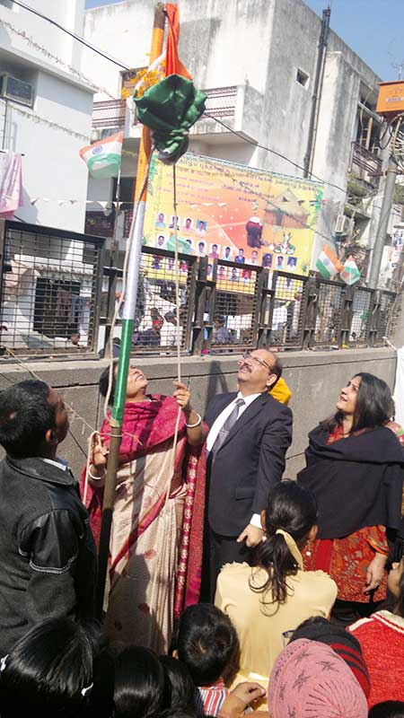 Republic Day celebration 2013- Prajna Foundation