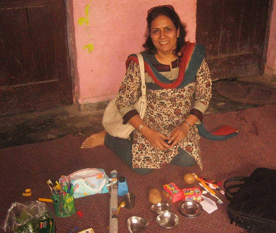 Art & Craft workshop by Mrs Sadhna Maheshwari- Prajna Foundation