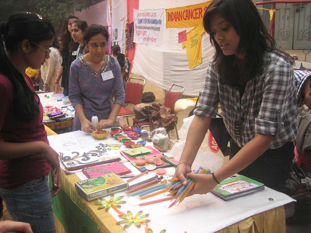 Diwali mela at LSR 2012