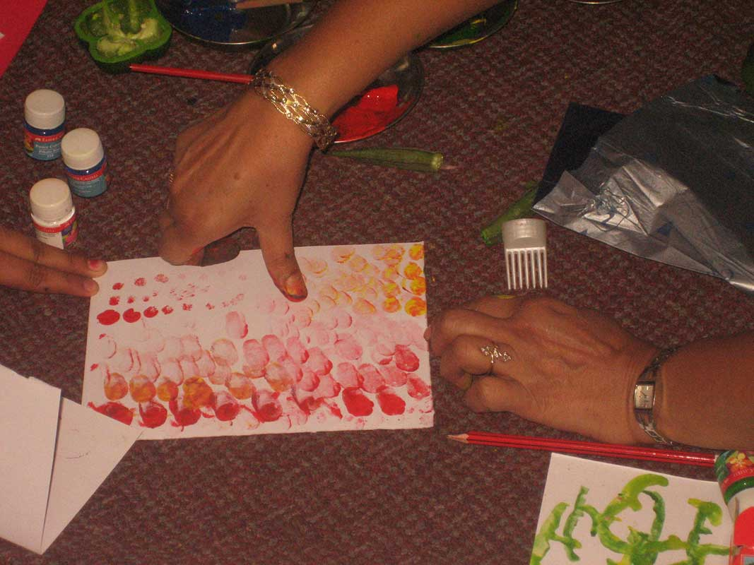 Art & Craft workshop by Mrs Sadhna Maheshwari- Prajna Foundation