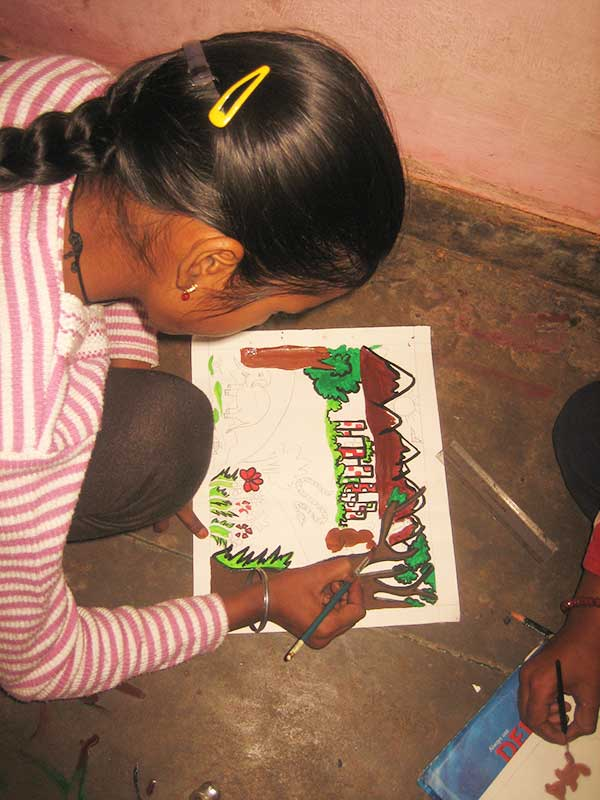 Wildlife painting competition 2012- Prajna Foundation