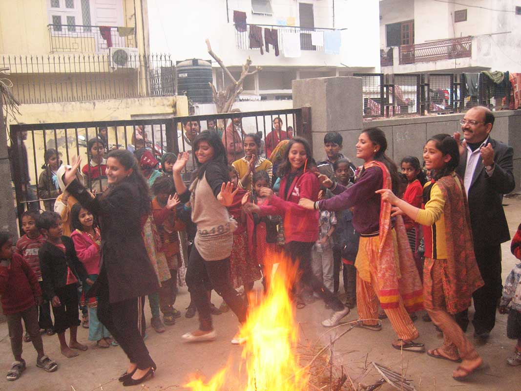 Lohri & Pongal celebration- Prajna Foundation
