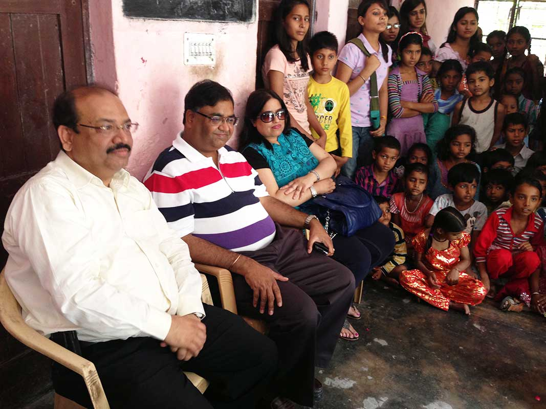 Centre visit by Hamendra Srivastava CEO- Prajna Foundation