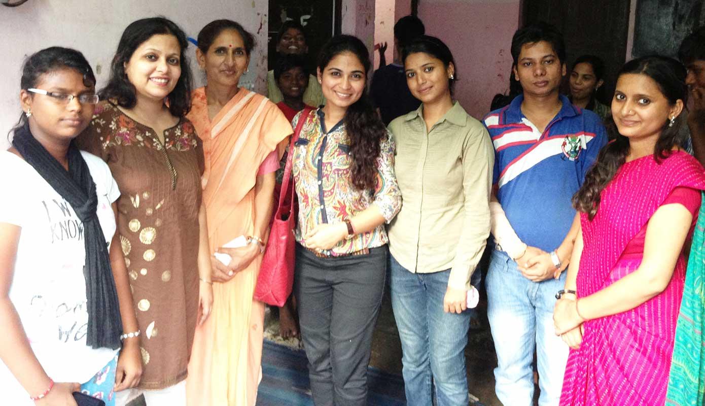Bollywood singer Supriya Joshi's Visit- Prajna Foundation