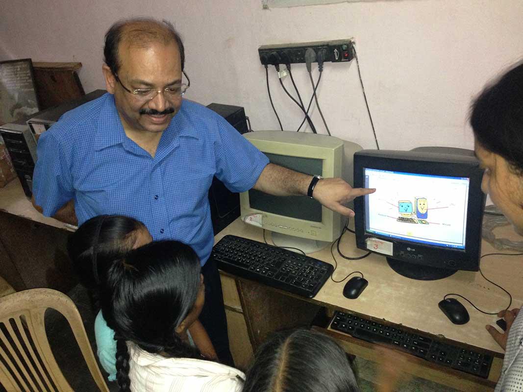 Computer Class- Prajna Foundation