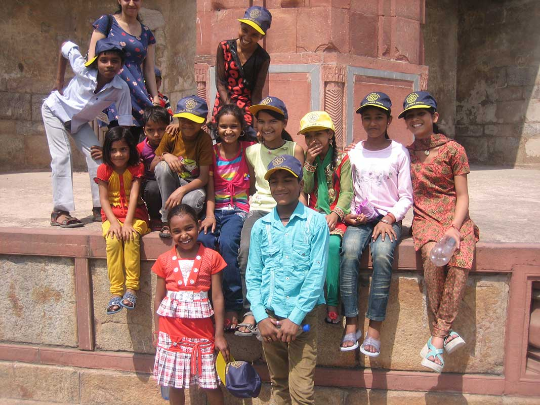 Educational Trip to Purana Quila- Prajna Foundation